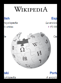 Wikipedia sphere