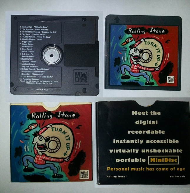 Pictures of Rolling Stone Mini Disc